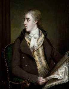 Thomas Robinson - Portrait of a Young Man (..