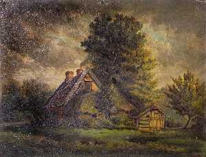 Herbert John Rylance - Old Cottage, Eastern Gree..