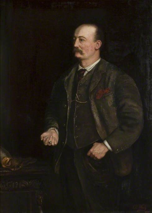 Edward Montagu (1839–1916), 8th Earl of Sandwich, 1887 by Emily C Way (1992-1945, United States) | Museum Quality Reproductions | ArtsDot.com