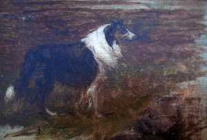 William Henry Howe - Collie, (painting)