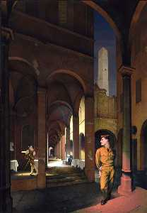 Paul Cadmus - Night in Bologna