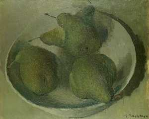 Pavel Tchelitchew - Still Life with Pears