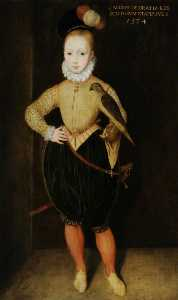 Rowland Lockey - James I and VI (1566–1625), as a Boy (after Arnold Bronckhorst)