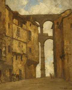 Isobelle Ann Dods Withers - The Aqueduct, Segovia, Spain