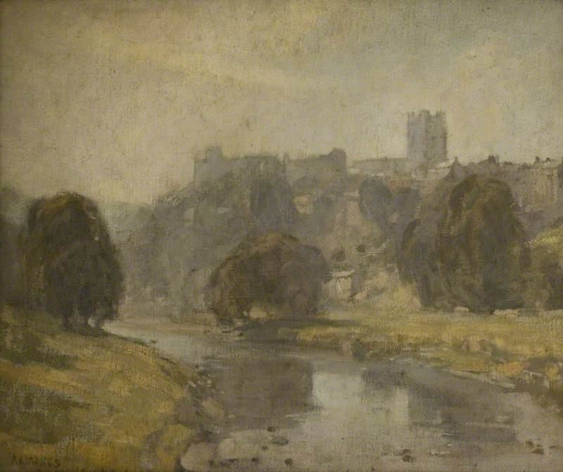 Order Museum Quality Copies | Richmond, North Yorkshire by Arthur Ernest Vokes | ArtsDot.com