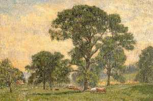 Walter J Stamps - Meadow Scene