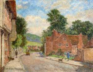 Walter J Stamps - The High Street, West Wyc..