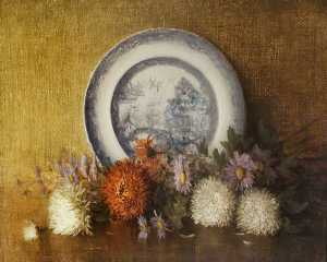 William Pritt - Michaelmas Flowers