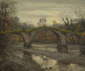 William Pritt - Hodder Bridge