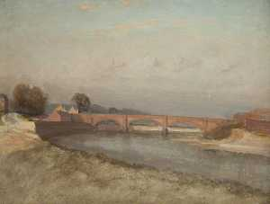 William Pritt - Old Walton Bridge