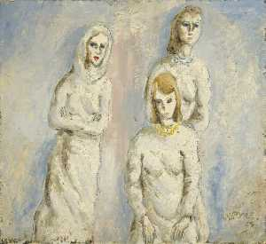 Walter G Poole - Women in White
