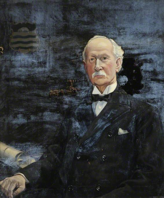 James E. Bartlett (1853–1942), Chairman of the Public Library Committee (1925–1936) by Francis Kenneth Elwell | Art Reproduction | ArtsDot.com