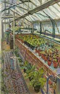 Vivienne M Luxton - In the Greenhouse