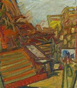 Frank Helmuth Auerbach - To the Studios
