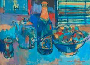 John F O'connell - Table Top Still Life