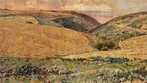 Malcolm Alastair Percy Ferguson - Near Selworthy Beacon
