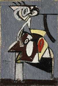 Arshile Gorky - Child of an Idumean Night..