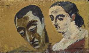 Arshile Gorky - Portrait of Myself and My..