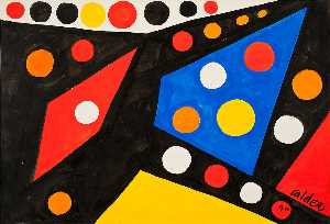 Alexander Milne Calder - Colored Spots
