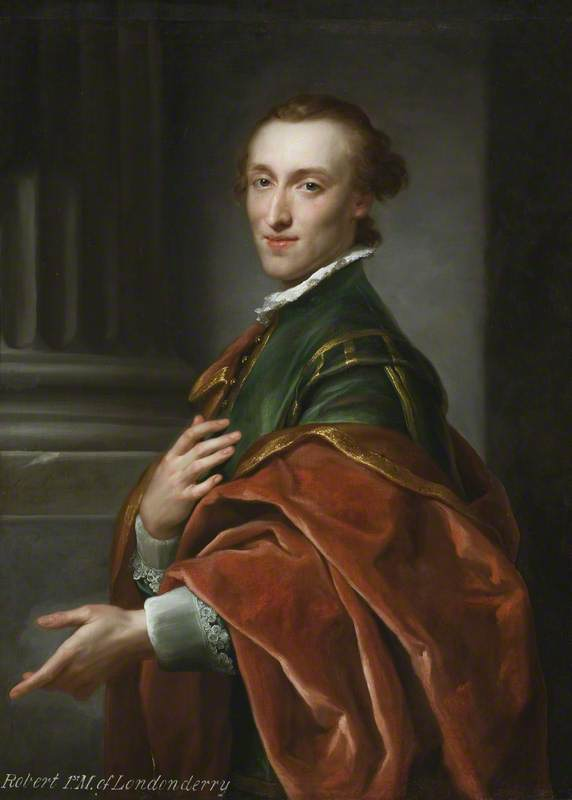 Robert Stewart (1739–1821), Later 1st Marquess of Londonderry, 1758 by Anton Raphael Mengs (1728-1779, Czech Republic) | Museum Quality Reproductions | ArtsDot.com