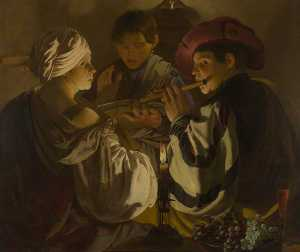 Hendrick Terbrugghen - The Concert