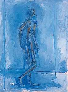William Turnbull - Walking Figure (Man)