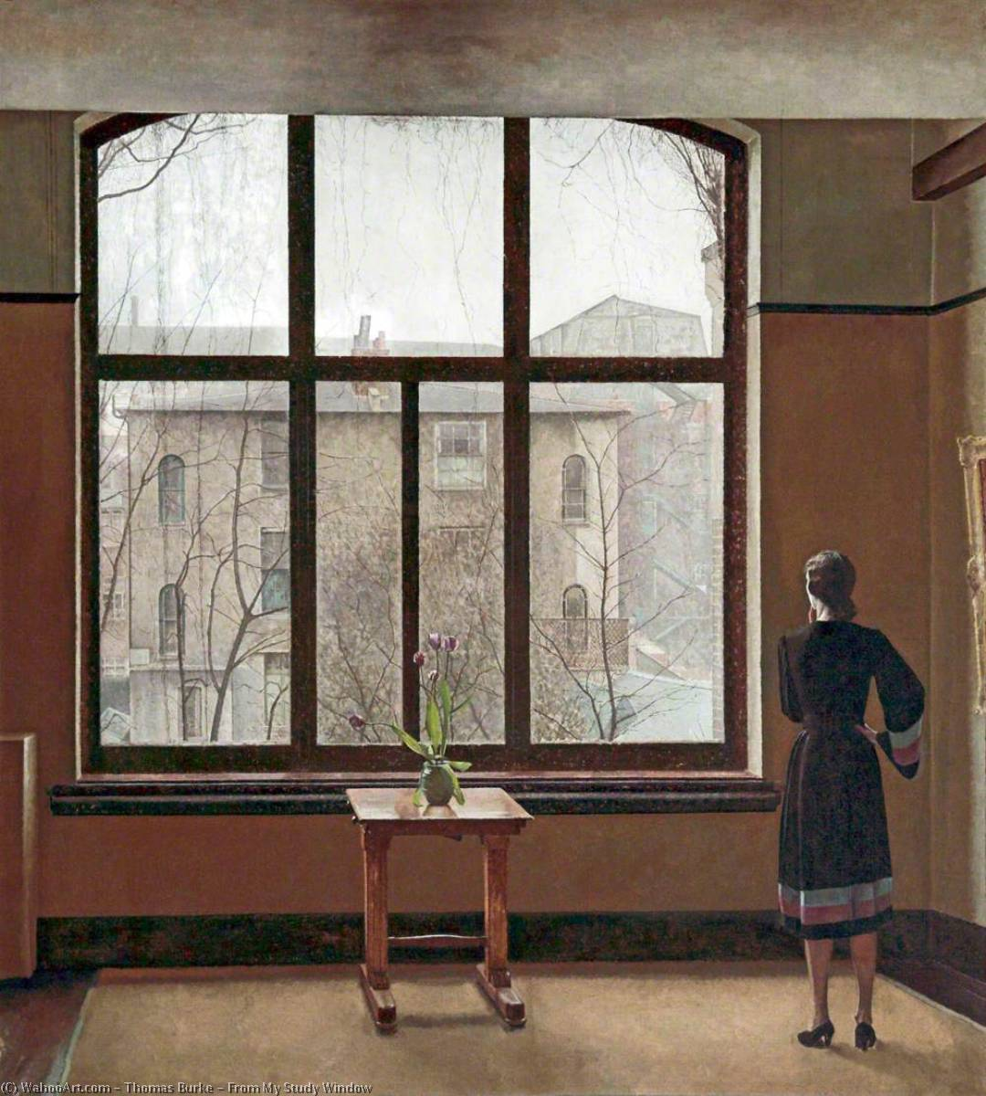 From My Study Window, 1940 by Thomas Burke (1749-1815) | Museum Quality Reproductions | ArtsDot.com