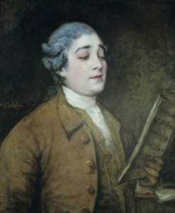 Thomas Gainsborough - Giusto Ferdinando Tenducci (1734–1790)