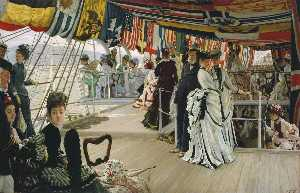 Jacques Joseph (James ) T.. - The Ball on Shipboard