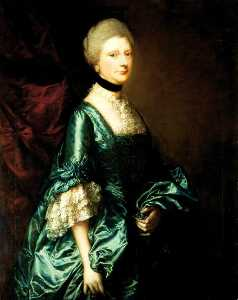Thomas Gainsborough - Harriet, Viscountess Tracy