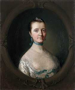 Thomas Gainsborough - Mary, Mrs John Vere