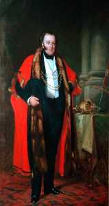 Francis Grant - George Hudson Esq., Lord Mayor of the City of York