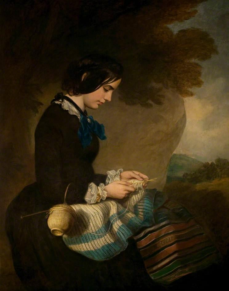Mary Isabella Grant by Francis Grant (1803-1878, United Kingdom) | Museum Quality Reproductions | ArtsDot.com
