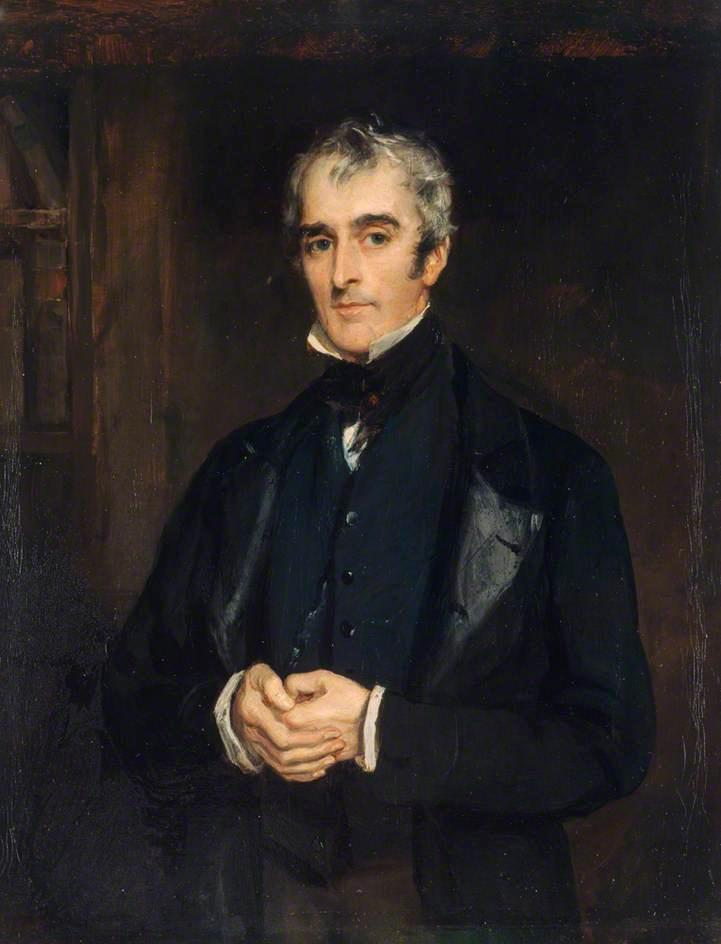 John Gibson Lockhart, 1850 by Francis Grant (1803-1878, United Kingdom) | Painting Copy | ArtsDot.com