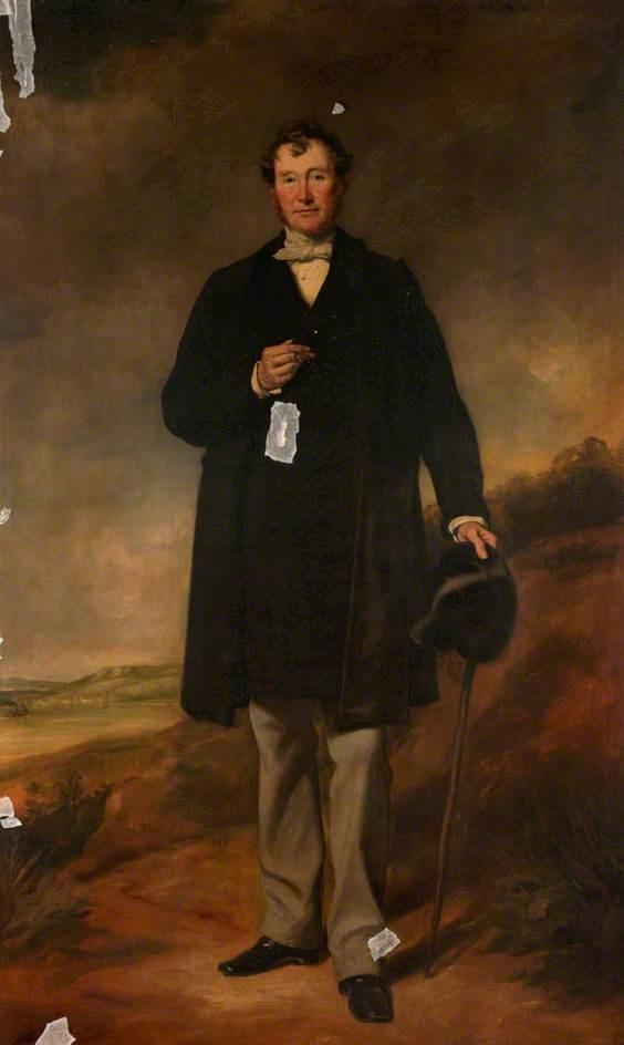 Francis Molison of Errol Park, 1861 by Francis Grant (1803-1878, United Kingdom) | Museum Quality Reproductions | ArtsDot.com