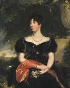 Thomas Lawrence - Elizabeth Sykes, Mrs Wilb..