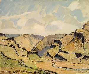Emile Walters - Haukadal (Looking East)