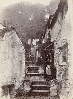 Clovelly, North Hill, 1855 by Francis Bedford | Art Reproductions Francis Bedford | ArtsDot.com