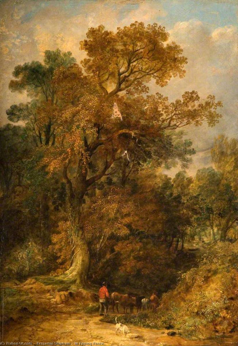 Order Art Reproductions | In Epping Forest by Benjamin Shipham | ArtsDot.com