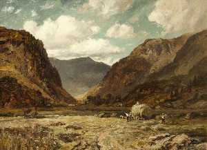 Thomas Huson - Lake District Scene