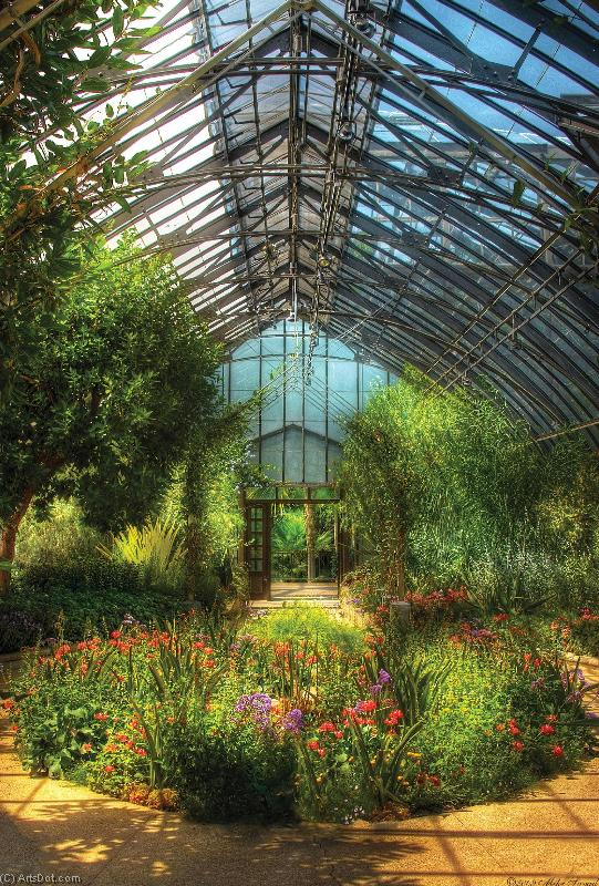 Order Textured Print | GRP2099676 (1)-t - House - Framed Art - Greenhouse (AC9GGH) | ArtsDot.com