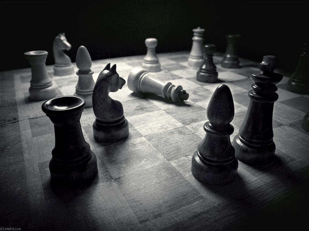Chess (13) - Fun - Photos - Chess (AC73RJ) | Print On Canvas Photos | ArtsDot.com
