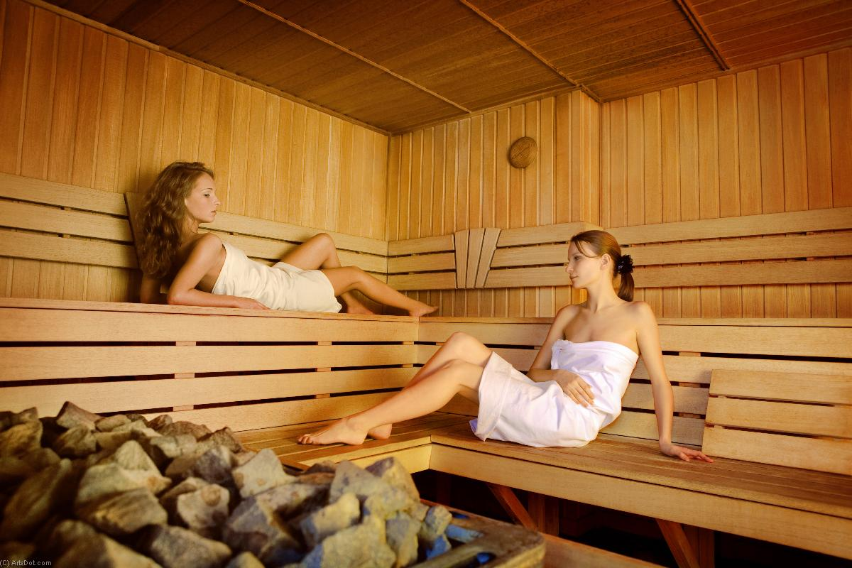 Sauna (2) - Fun - Photos - Rest, Sauna (AC745W) | Print On Canvas Photos | ArtsDot.com