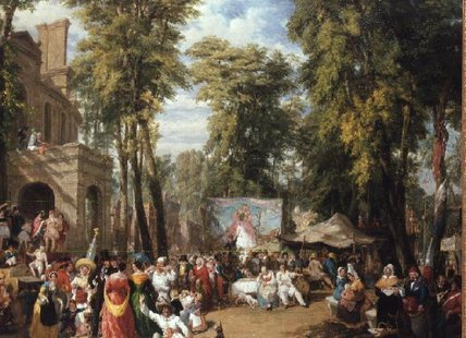 Bal De La Ville De Paris by William Samuel Parrott (1844-1915) | Oil Painting | ArtsDot.com