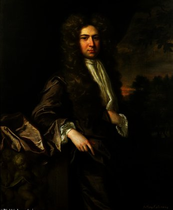 Anthony collins by Jonathan Richardson The Elder (1667-1745) | Painting Copy | ArtsDot.com