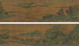 Qiu Ying - RIVERS AND MOUNTAINS WITH..