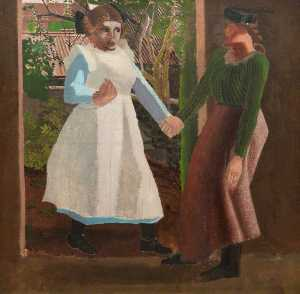 Stanley Spencer - The Visitation