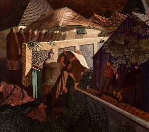 Stanley Spencer - The Betrayal