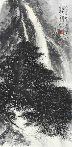 Li Xiongcai - Cascades by the Pines