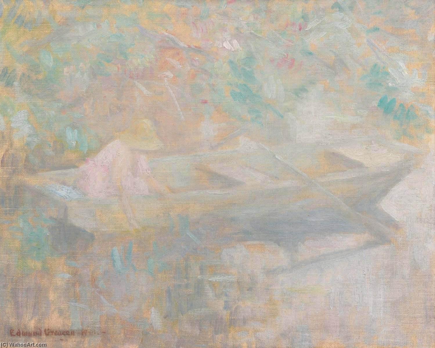 Drifting by Edmund William Greacen (1876-1949) | Oil Painting | ArtsDot.com